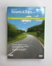 Microsoft Streets and Trips 2007 New Opened Box