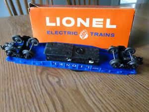 LIONEL HELICOPTER CAR 3419