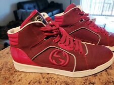 d77e38cbce3d Gucci Sneakers Size 11 (Size 12 in U.S. Men) RED Excellent Condition