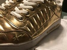 3b0cfdabc1fc9e Bape Gold Mid 88 By Foot Soldier. A Bathing Ape. Size 10 Bapesta