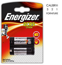 1 batteria 2CR5 LITIO ENERGIZER 6 Volt pila lithium