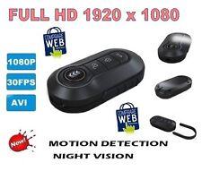 TELECOMANDO SPIA VIDEO FULL HD 1920X1080P PORTACHIAVI PENNA SPY TELECAMERA CW65