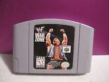 WWF Warzone  (Nintendo 64, 1998)CARTRIDGE ONLY