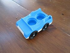 Fisher Price Little People Play family McDonalds 2552 Blue car town main st city