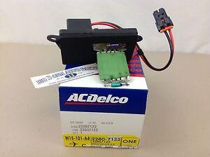 Chevrolet Silverado Avalanche GMC Sierra A/C Heater Control Resistor new OEM