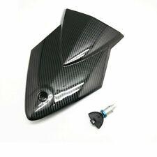 Rear Passenger Seat Back Fairing Lock Key For BMW S1000RR 2010-2014 Carbon Fibre