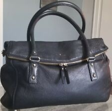Kate Spade Cobble Hill Black Soft Black Leather Handbag