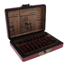 Standard Soroban Abacus - 9 Digits with 7 Beads - Both Functional and