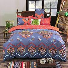 Soft Bedding Duvet Cover Set Bohemian Oriental Boho Reversible Color Queen size