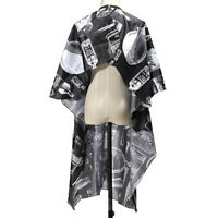 Adult Salon Barbers Hairdresser Hair Cutting Cape Gown Hairdressing Clothes FE