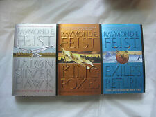 Lot of 3~Complete Conclave of Shadows Trilogy by Raymond E. Feist~Lbdpa