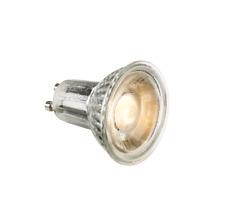 50 x Knightsbridge New GU10 LED 5w Warm White 3000k Bulb Glass front COB LED