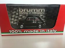 BRUMM 1:43 Fiat 500L chiusa 1968-1972 nero R465-12