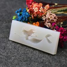 Stampo in silicone stampo fai da te SIRENA Cabochon per resina epossidica gioielli ciondolo