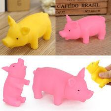 Mignon pour Pet Chien Dog Jouet Chew Pig Toy Siffleur grinçant Avec son