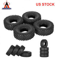 4Pcs New AUSTAR AX-5020 1.9 Inch 120mm Rock Crawler Tires for 1/10 RC Car