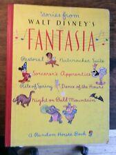 Stories From Fantasia Walt Disney 1940 Color Illustrations