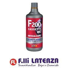 FAREN F200 DISINCROSTANTE ACIDO ANTICALCARE CASSETTE WC PROFESSIONALE 1000 ml...