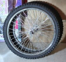 "Pair of 20"" BMX Wheels Rims With Tires"