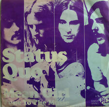 "7 "" 1971 ROCK RARE VG+ ! STATUS QUO : Mean Girl"
