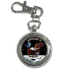 APOLLO 11 INSIGNIA BADGE EMBLEM  KEYCHAIN WATCH **BRILLIANT GIFT ITEM**