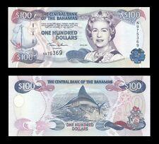 Bahamas 100 Dollars 2000 P67 AU/UNC