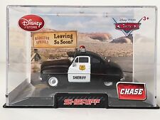 MIB Disney Pixar Cars CHASE EDITION SHERIFF Diecast with Collector's Case