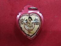 Love Inn Koo Couple Heart Oil Pendant By Ajarn PaiBoon Charm Thai Amulet