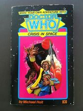 Make Your Own Adventure DOCTOR WHO Crisis In Space By Michael Holt