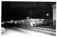 9A309 NEG/RP 1954? KEY SYSTEM RAILWAY CAR #158 AT DWIGHT & SHATTUCK