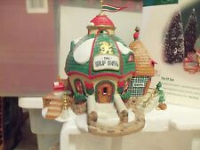 Department 56 Elf Spa North Pole Series new in box
