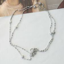Kendra Scott Rue Long Strand Necklace In Silver NEW