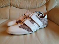Gucci Mens Shoes Cream Trainers  UK 7.5  US 8.5  EU 41.5