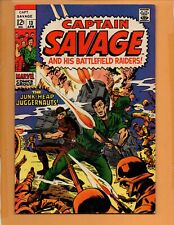 Captain Savage And His Battlefield Raiders #13  FN/VF to VF-
