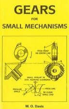 GEAR WHEELS FOR SMALL MECHANISMS BOOK MODEL ENGINEERING