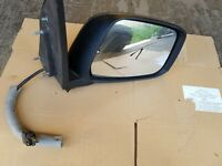2007 NISSAN NAVARA DRIVER SIDE ELECTRIC WING MIRROR MINT