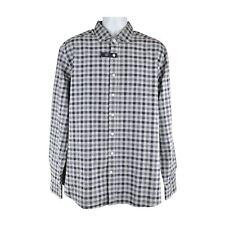 Hackett Blue Slim Fit Long Sleeve Shirt Size XXL RRP115 P80