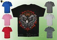 Bengal Rising Shirt - Double Dragon Bengal Rising Fantasy Dragon -  Licensed Tee