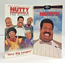 Nutty Professor 1 & 2 VHS Movie Tape Eddie Murphy The Klumps