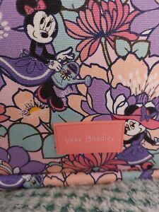 NEW Disney Vera Bradley Minnie's Garden Party Travel Bag Oversized TOTE BEACH