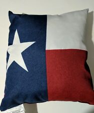 Patriotic Red White Blue Indoor Outdoor Mainstays Decorative Throw Pillow New