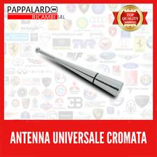 Antenna Auto Autoradio Universale Antennino Cromata per tutti  PROMO APRILE