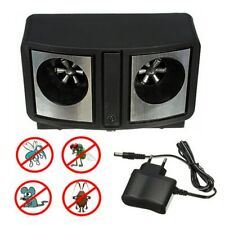 New Electronic Ultrasonic Pest Repeller Dual Sonic Mice Rat Rodent Control
