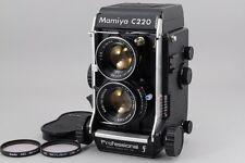 【Super Rare!!Near Mint+++】Mamiya C220 F W/Sekor 80mm f/2.8 Blue dot  from Japan