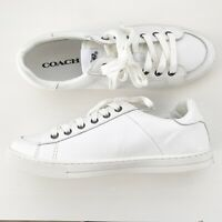 Coach Shoes White Size 9 Tennis Shoes Sneakers NEW Casual