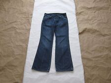 "Distressed Seven for All Man Kind ""A"" Pocket Denim Jeans Sz 27 (Made in USA)"