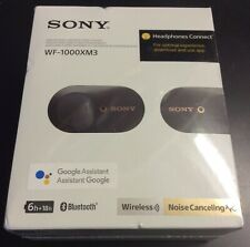 Sony WF-1000XM3 True Wireless Noise Canceling In Ear Headphones - Black #4445