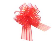Cintas y lazos de color principal rojo para regalos