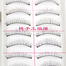 Handmade Black Mink Flase Eyelashes Sparse Extension Eye Lashes Makeup Set S-216