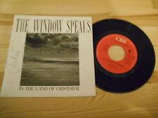 "7"" POP the window Speaks-in the Land of Cristobal/Strangled CBS Rec"